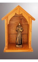 Nicchia artigianale in legno cm47