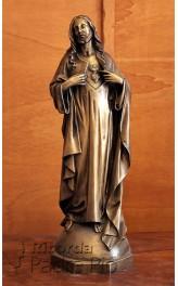 Statua Sacro Cuore di Gesù in Bronzo fuso 60cm