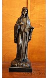 Statua Madonna di Lourdes Bronzo 60cm