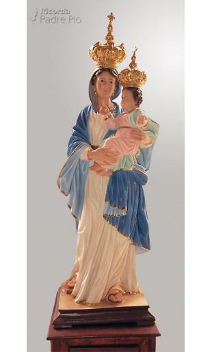 Statua Madonna con le Corone cm45