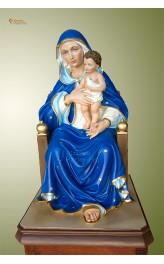 Statua Madonna seduta cm 60