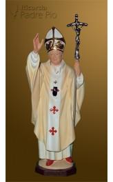 Statua Papa Giovanni Paolo II 33cm