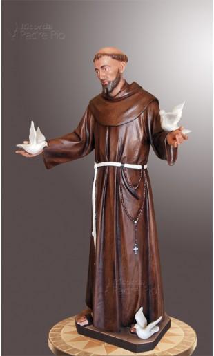 Statua San Francesco d'Assisi 140cm