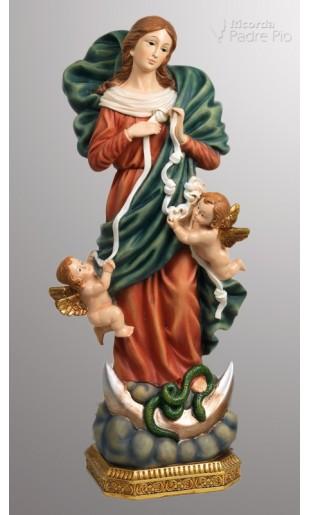 Statua Madonna che Scioglie i Nodi 31cm