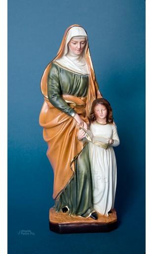 Statua Sant' Anna in resina cm30