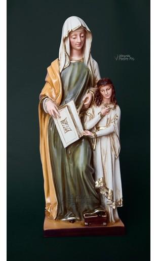 Statua Sant' Anna in resina cm40