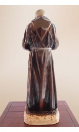 Statue of Padre Pio's blessing 11.8 in